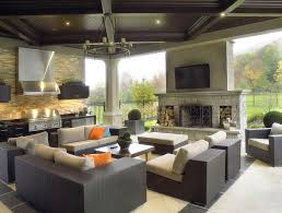 covered outdoor fireplace ideas