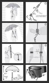 there are several possibilities for exle antigravity gear has a model featuring clips which attach your trekking umbrella to your back pack