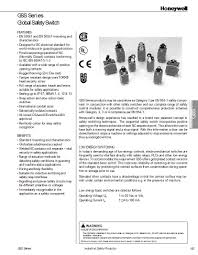 Gsaa20a1b Honeywell Electromechanical Datasheets Mouser India