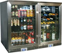 vissani beverage cooler home depot beverage refrigerator glass door wine cooler fridges dual climate available with