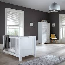white furniture nursery. Silver Cross Notting Hill Collection White Furniture Nursery