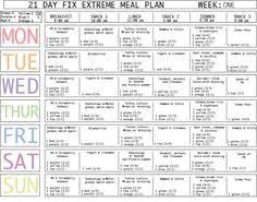Here Is A Blank Meal Plan Template You Can Use Diet Plan Printable