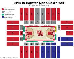 Houston Arena Seating Chart 20 Bright Osu Basketball Stadium Seating Chart