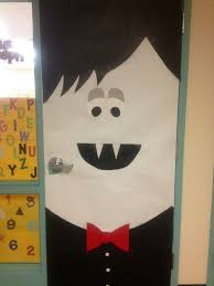 classroom door decorations for halloween. Decoration Halloween Door Decorations Homemade Stunning Vampire Classroom Thatmade Up All On My Very For L