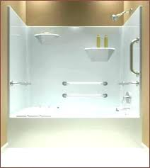 one piece bathtub and shower one piece tub and shower unit one piece tub shower combo