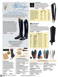 Equifit Shoulders Back Size Chart Dressage Extensions Inc Dressage Extensions Catalog 172