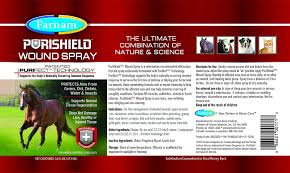 Wound Farnam Aids Purishield Horses Cleaning Dogs On Spray In F5vCPqn