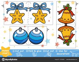 Bildung Weihnachten Papier Basteln Für Kinder Christmas Bell