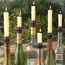 Ideas To Decorate Wine Bottles Recycled Red and White Ciroc Vodka Bottle Wind Chime Vodka 37