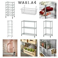 ikea omar shelving unit galvanised various sizes fast free courier delivered