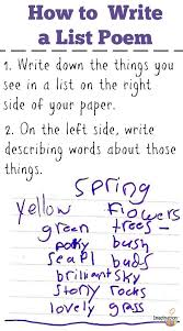 best national poetry month images national  list poems fun poetry kids
