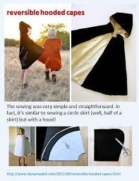 reversible hooded cape tutorial by danamadeit danamadeit
