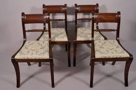 Regency Dining Chairs Mahogany