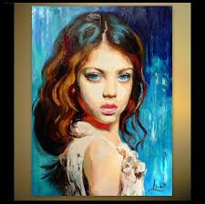 canvas portraits lovely custom portrait painting oil painting portrait a child
