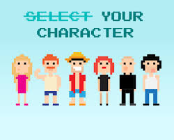 life is a game this is your strategy guide select your character