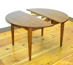 round shaker dining table round table with leaf extension handmade shaker style round table within round