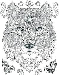 Animal Coloring Pages For Adults Jokingartcom