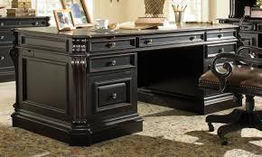 hooker furniture telluride 76 wood executive desk n87