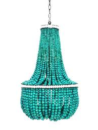 bead chandelier turquoise wood bead chandelier lighting wood intended for bead chandelier canada