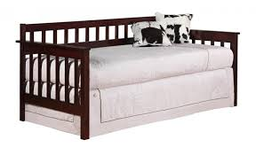 twin bed with pop up trundle. Wooden Twin Bed With Pop Up Trundle U