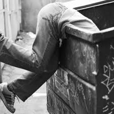 on dumpster diving in his essay ldquoon dumpster diving rdquo lars eighner tells the story of his experience surviving homelessness while accompanied by his dog d lizbeth