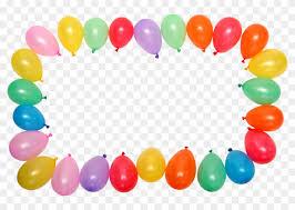birthday balloons border clip art.  Border Birthday Balloon Border Clip Art  Wallpaper And Balloons