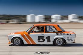 Datsun Race Car In Action Panning Race Car Photography