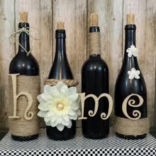 Home Decor With Wine Bottles wine bottle decorating Design Decoration 9