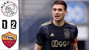 Ajax vs Roma FIFA 21 - YouTube