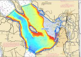 Crew Of Noaa Ship Rainier Surveys Everett Washington To