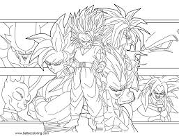 Dragon Ball Super Coloring Pages By Guitar6god Free Printable