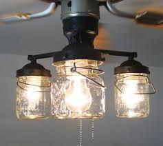curtain nice ceiling fan chandelier light kit 25 modern amazing vintage canning jar 149 00 via