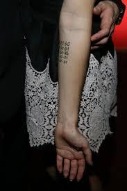 Tydencz Nývltová Předvedla Tajemné Tetování Známe Význam