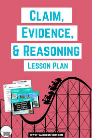 My Favorite Lesson Plan For Teaching Claim Evidence And