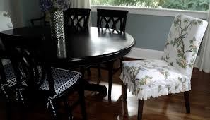 when i bought the dining room table and chairs off craigslist i thought it would look nice to put an ikea henriksdal parsons