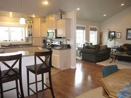 open kitchen living room floor plan. Open Kitchen Living Room Floor Plan Home Combo