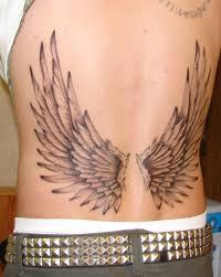 Angel Wings Tattoo Tattoo Bytes