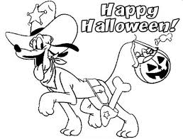 Small Picture Happy halloween coloring pages pluto ColoringStar