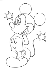 Small Picture Cartoon Coloring Pages Mickey Mouse Coloring Pages