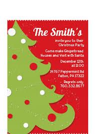 Images Of Christmas Invitations Christmas Tree Christmas Petite Invitations