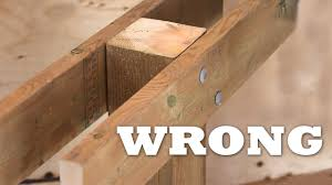 Post And Beam Deck Design How To Attach A Beam To A Post For A Deck