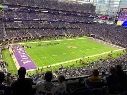 Minnesota Vikings Tickets Seating Chart Photos At U S Bank Stadium