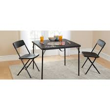Fold In Half Round Table Mainstays 20 X 40 Fold In Half Table Black Walmartcom
