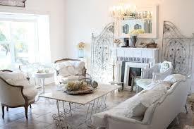 Shabby Living Room White Fireplace Chic Shabby Living Room White Table Lamp Modern