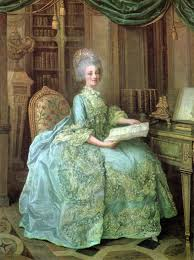 Marie Antoinette Beautiful Gown Long Ago And Faraway