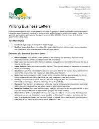 Modified Block Format Business Letter Images Letter Samples Format