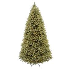 Home Accents Holiday 9 Ft PreLit Downswept Douglas Fir Holiday Home Accents Christmas Tree