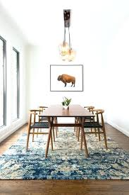 dining table rugs space wishbone chair globe pendant jute under rug room large size of span aut
