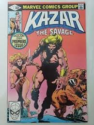 KA-ZAR THE SAVAGE #1 (1981) MARVEL COMICS SHANNA THE SHE-DEVIL! BRUCE  JONES! | eBay