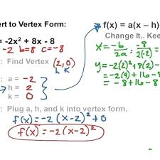 quadratics standard form math quadratics vertex form math algebra quadratic equations with regard to standard form